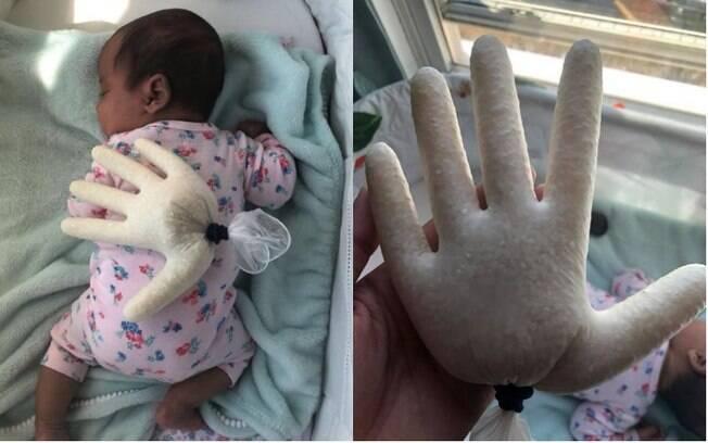 Cólicas em bebês recém-nascidos é algo comum e, para ajudar a filha, uma mãe surgiu com uma técnica prática e criativa
