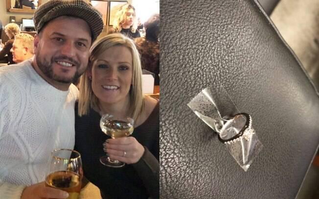 O Departamento de Polícia de Nova York encontrou o casal que perdeu anel de noivado com ajuda das redes sociais