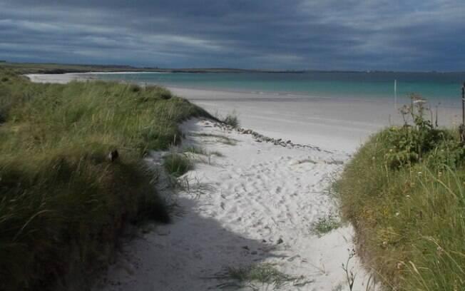 A ilha Stronsay, localizada na Escócia, lançou uma campanha para incentivar o turismo no local