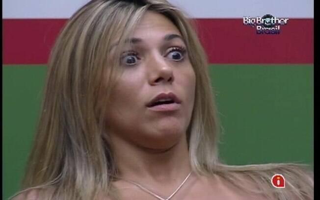 Fabiana revela como será sua postura dentro do jogo