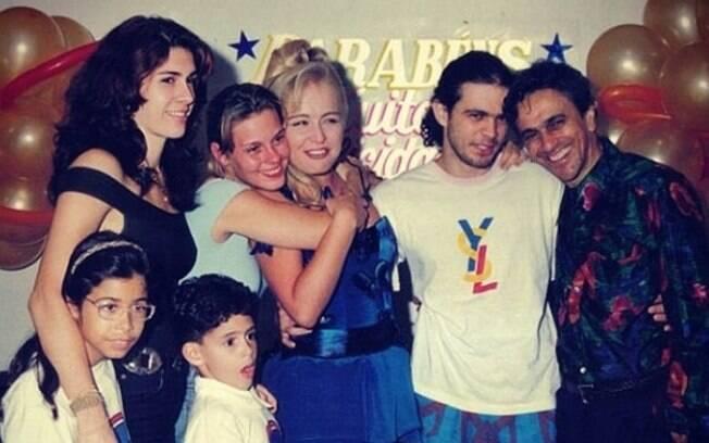 Paula Lavigne, Angélica, Carol Dieckmann, Caetano e os filhos Tom e Moreno Veloso