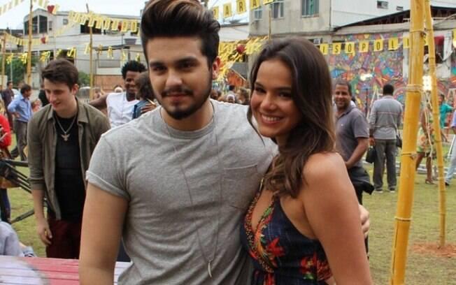 Luan Santana revelou em entrevista que já ficou com Bruna Marquezine