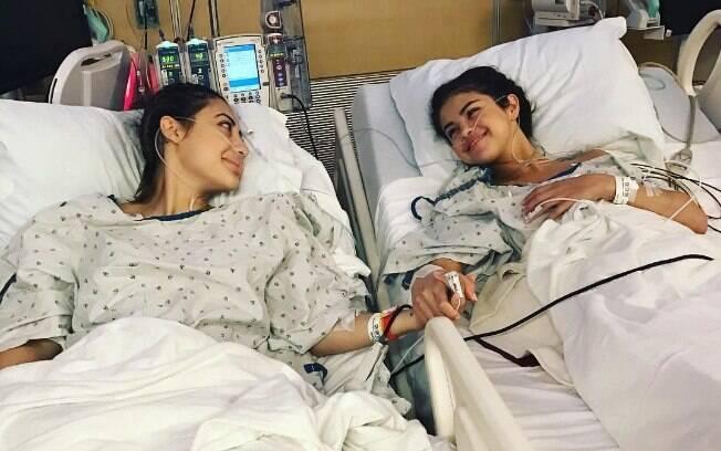 Selena Gomez e Francia Raísa