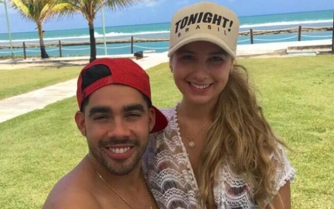 Gabriel Diniz e a namorada, Karol Calheiros