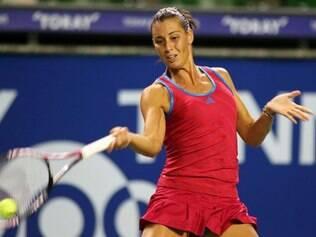 Aos 32 anos, a veterana tenista superou a campeã do Aberto da Austrália