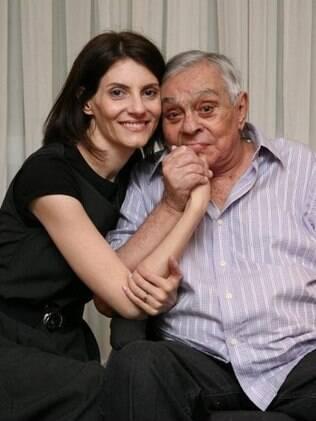 Malga Di Paula com o marido, Chico Anysio