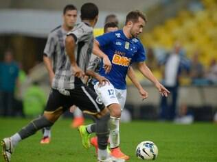 ESPORTES - RIO DE JANEIRO / RIO DE JANEIRO / BRASIL - Cruzeiro joga com Botafogo no Maracanã. FOTO: Gaspar Nobrega/Light Press. 02.08.2014
