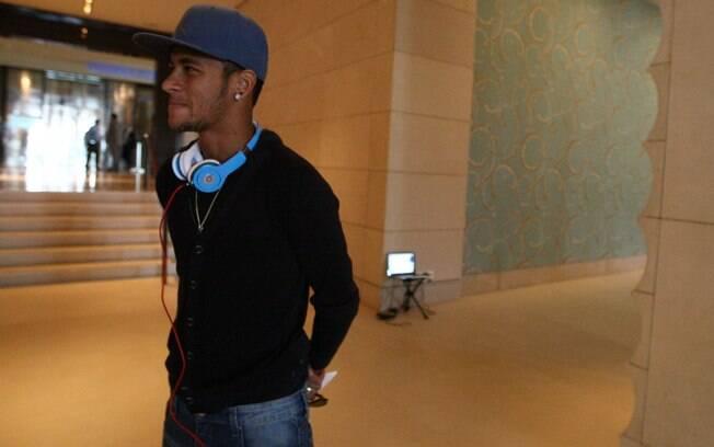 Neymar, atacante e estrela da seleção  brasileira