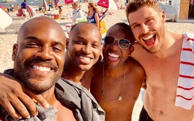 Zulu, Thiaguinho,  Barriguinha e Bruninho