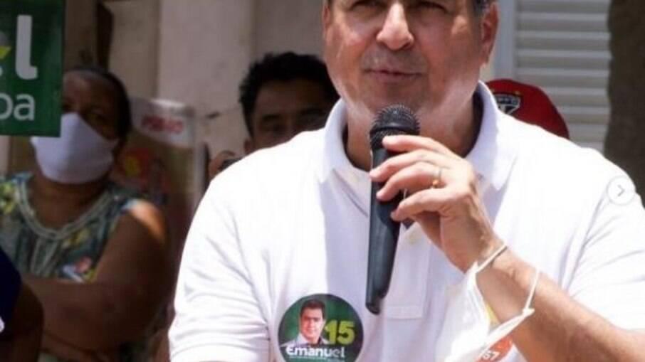 Emanuel Pinheiro foi flagrado descumprindo decreto estadual de isolamento em Cuiabá