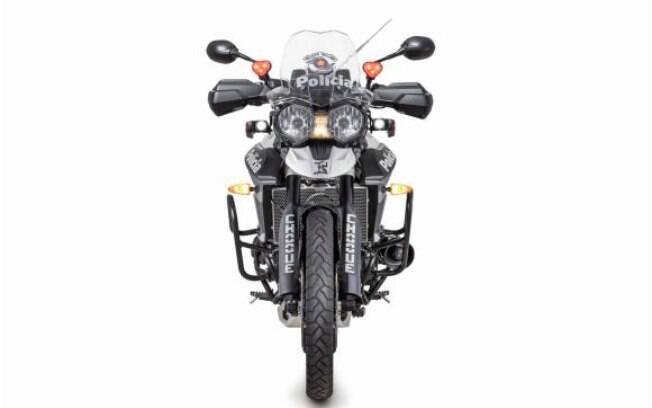 A montadora inglesa já entregou o primeiro lote de motos que já estão patrulhando as ruas de São Paulo