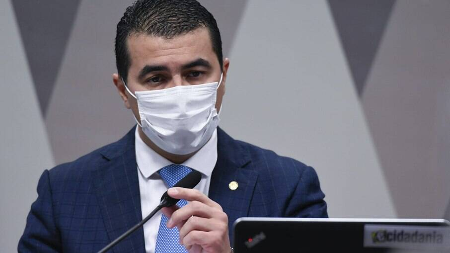 Deputado Luis Miranda na CPI da Covid
