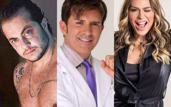Thammy Miranda, Dr Rey e Fernanda Lacerda