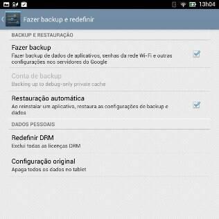 Android tem recurso que apaga todo o conteúdo do aparelho
