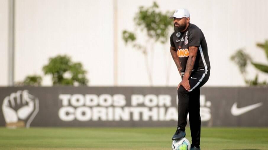 Dyego Coelho no Corinthians
