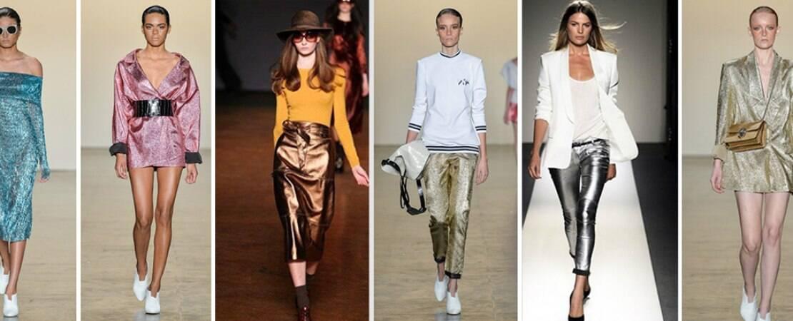 Metalizados são tendência e marcam o momento futurista da moda