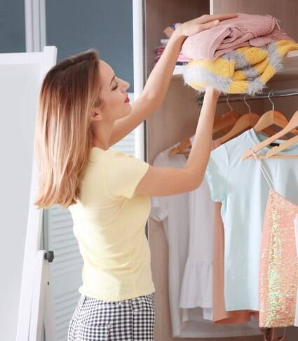 Quer arrumar o guarda-roupas? Siga estas 6 etapas