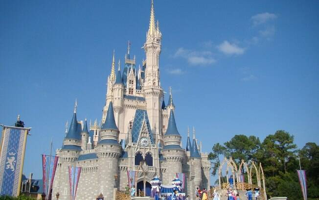 Castelo da Cinderela, no Magic Kingdom