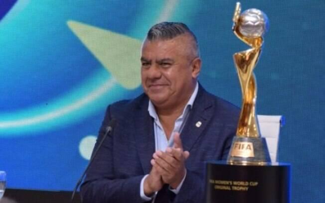 Chiqui Tapia%2C presidente da AFA