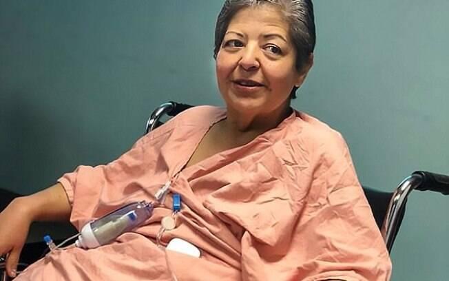 Mulher afirmou que não se submetia à cirurgia para retirada do tumor por
