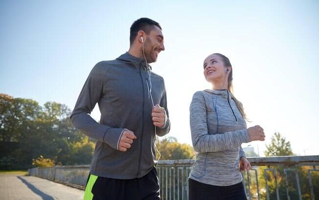 Ideia do Happn e da Nike é juntar pessoas que tenham em comum a paixão pela corrida em treino no Ibirapuera