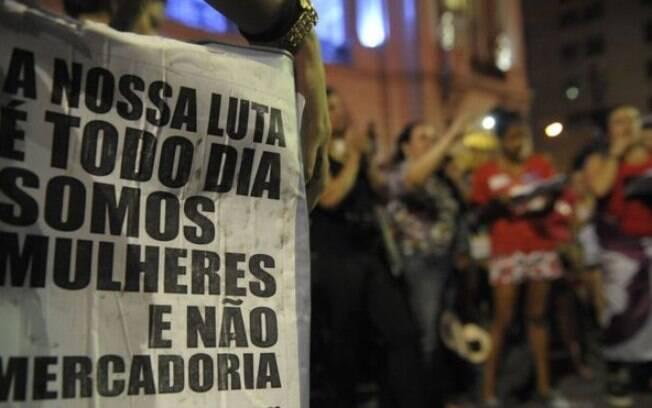 Dados apontam que país tem ao menos 50 mil estupros por ano