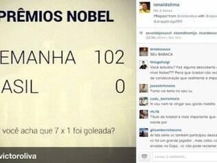 Recentemente, Ronaldo já havia dado declarações de descontentamento sobre a Copa no Brasil