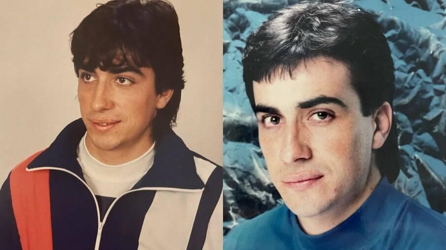 Padre Fabio de Melo posta fotos antigas parecendo integrante do grupo Menudo