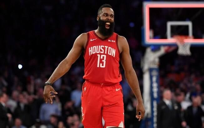 James Harden anotou 61 pontos na vitória do Houston Rockets em cima do Knicks