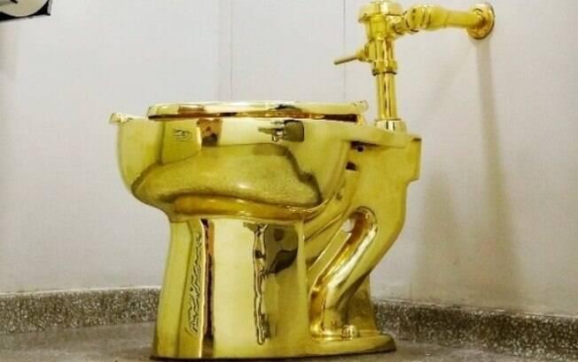 Vaso com 18 quilates de ouro foi roubado