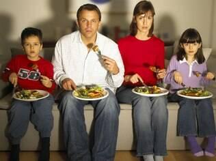 A televisão pode potencializar o fim das conversas