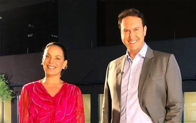 Carolina Ferraz e Eduardo Ribeiro