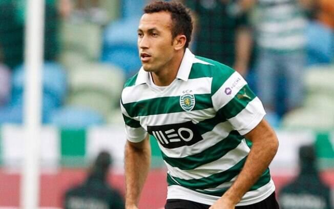 Jefferson, lateral do Sporting, não é muito lembrado no Palmeiras. Mas em Portugal é bem conhecido e respeitado