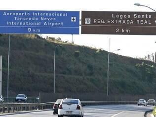 A LMG–800 será bloqueada no sentido BH/aeroporto