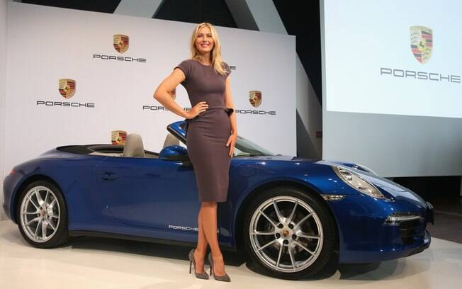 Maria Sharapova é a nova embaixadora global  da Porsche