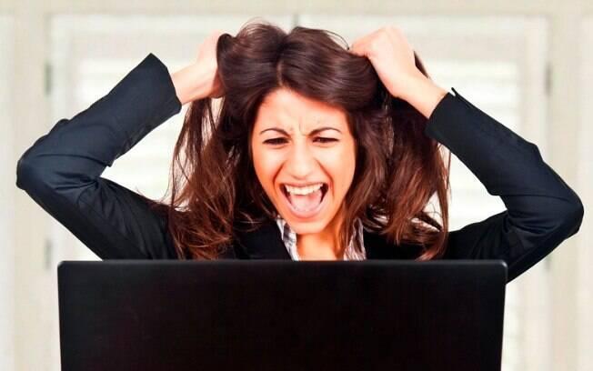 A loucura de tarefas do dia-a-dia é responsável por deixar muita mulher estressada