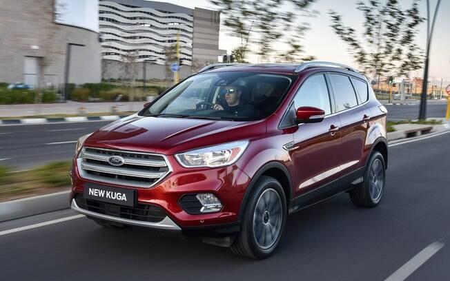 Novo Kuga: um dos responsáveis pelo fortalecimento da Ford na Europa, junto de EcoSport e Edge