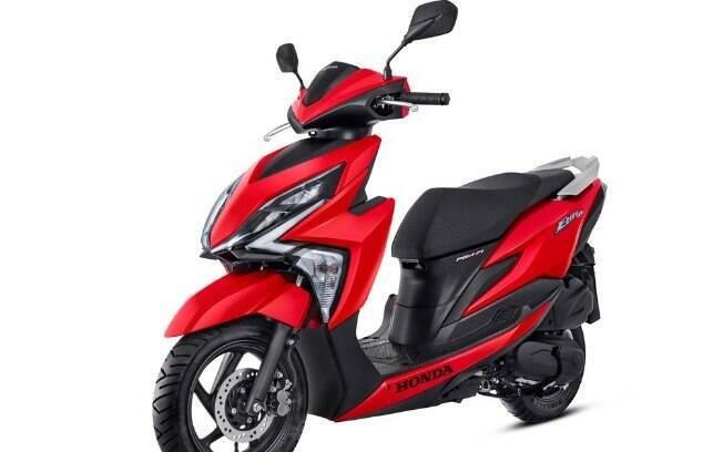 Honda Elite 125%3 Por conta do peso da marca, é extremamente popular entre os scooteres mais baratos