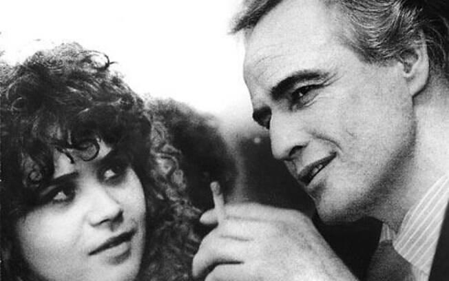 Maria Schneider e Marlon Brando em