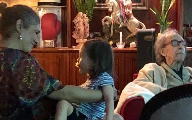 Sofia Gilberto revelou que o sonho dela é que João Gilberto passe um tempo na sua casa nos EUA