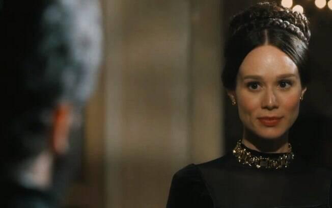 Nos Tempos do Imperador: Dom Pedro II cresce os olhos e deseja Luísa na cara da esposa Teresa Cristina