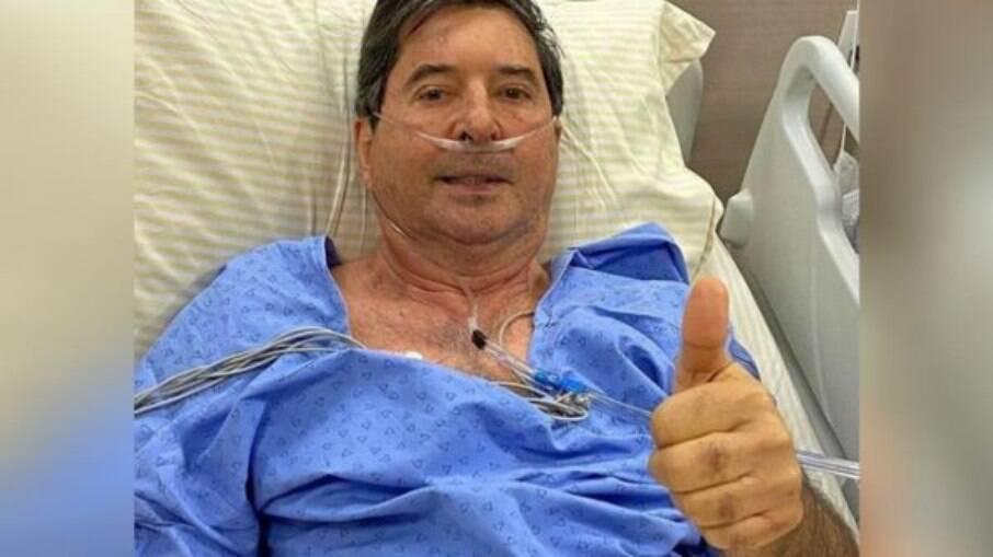 Maguito Vilela, em foto divulgada em novembro, antes do 2º turno das eleições