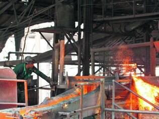 No topo. Segmento siderúrgico, como de ferro-liga e ferro-gusa, é um dos que mais demanda energia