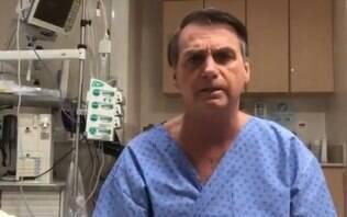 """Bolsonaro segue na UTI, mas apresenta """"boa evolução"""" após cirurgia, diz boletim"""