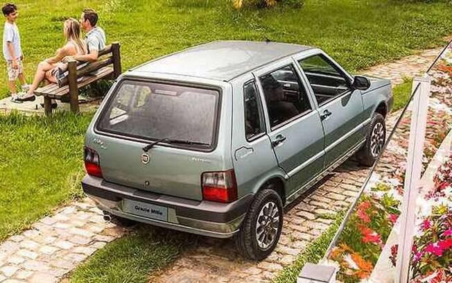 Fiat Mille deixou de ser fabricado no Brasil em 2014 depois de 30 anos de sucesso de vendas no País