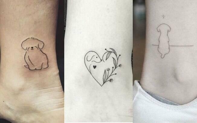 Mesmo que você não vá fazer uma tattoo realista, vale levar uma foto do animal para o profissional encontrar uma característica marcante, como uma mancha nos olhos ou no pelo. Dependendo, dá para acrescentar no contorno