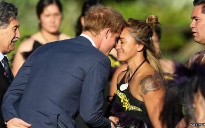 Príncipe Harry na Nova Zelândia
