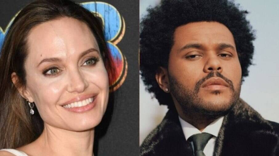 Angelina e The Weeknd foram vistos juntos