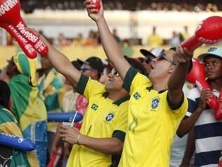 Fan fest será realizada no Expominas durante os dias de jogos da Copa do Mundo