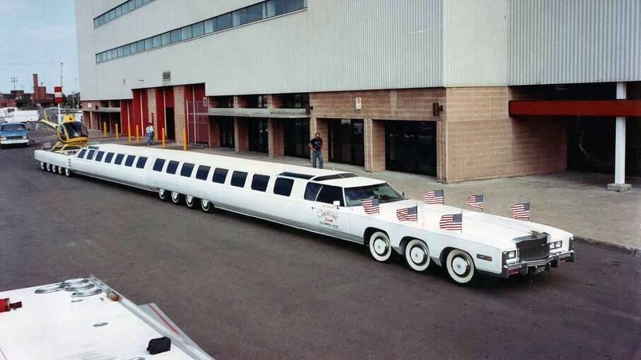American Dream Limo tem até piscina e heliponto, como uma das mais extravagantes limusines que se tem notícia